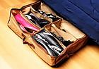 Компактный органайзер для хранения обуви Shoes under server | сумка для обуви, фото 8