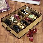 Компактный органайзер для хранения обуви Shoes under server | сумка для обуви, фото 10