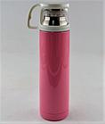 Вакуумный термос из нержавеющей стали BENSON BN-46 Голубой (350 мл) | термочашка, фото 2