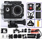 Водонепроницаемая спортивная экшн камера F60 (B5R), фото 7