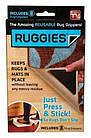 Держатель для ковров на липучках Ruggies | уголки - держатели для ковра, фото 7