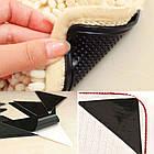 Держатель для ковров на липучках Ruggies | уголки - держатели для ковра, фото 8