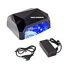 Гибридная лампа 36W Quick CCFL + LED Nail Lamp | сушилка для ногтей с таймером, фото 9