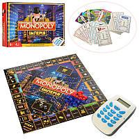 Настольная игра экономический менеджер Монополия Империя / Monopoly / Гра Монополія Імперія M3801