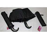 Мужской зонт полуавтомат в три сложения. Венгрия.