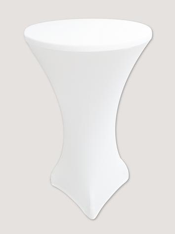 """Стрейч чехол на стол """"Виктор"""" 60/110 Белый из плотной ткани Спандекс, фото 2"""