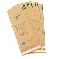 Крафт пакеты для паровой воздушной стерилизации, 100*200 ММ (100 штук в упаковке)