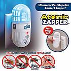 Мини ультразвуковой отпугиватель комаров Atomic ZABBER | ловушка для насекомых | приманка для комаров, фото 2