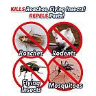 Мини ультразвуковой отпугиватель комаров Atomic ZABBER | ловушка для насекомых | приманка для комаров, фото 4