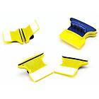 Двусторонняя магнитная щетка для мытья окон Glass Wiper | магнитный скребок для стекол, фото 2
