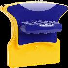 Двусторонняя магнитная щетка для мытья окон Glass Wiper | магнитный скребок для стекол, фото 3