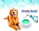 Охлаждающая миска для воды для домашних животных Frosty Bowl, фото 9