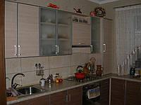 Кухня в алюминиевом профиле. Кухня под заказ