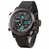 Часы мужские AMST AM3003_4 black steel