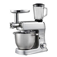 Кухонная машина Royalty Line RL-PKM-2100BG Silver 2100вт