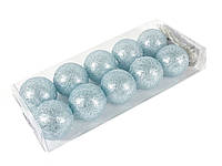 Гирлянда тайские шарики Decorino SkyBroc Cotton Balls 10led, диам 6см, длина 235см на батарейках АА