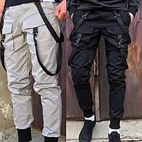 Мужские котонновые штаны карго