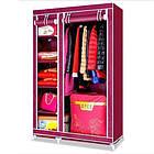Тканевой шкаф органайзер для одежды Clothes Rail With Protective Cover №28109 | складной шкаф, фото 2