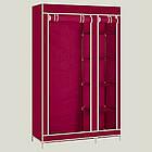 Тканевой шкаф органайзер для одежды Clothes Rail With Protective Cover №28109 | складной шкаф, фото 4