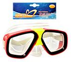 Детская маска для подводного плаванья 0321-32SH Зеленая | очки для плавания | очки - маска для ныряния, фото 4