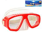 Детская маска для подводного плаванья 0321-32SH Зеленая | очки для плавания | очки - маска для ныряния, фото 5