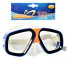 Детская маска для подводного плаванья 0321-32SH Зеленая | очки для плавания | очки - маска для ныряния, фото 6