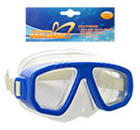 Детская маска для подводного плаванья 0321-32SH Салатовая   очки для плавания   очки - маска для ныряния, фото 3