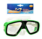 Детская маска для подводного плаванья 0321-32SH Синяя | очки для плавания | очки - маска для ныряния, фото 2
