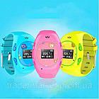 Детские часы с GPS-трекером G65 Желтые   смарт часы   умные часы, фото 3