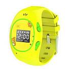 Детские часы с GPS-трекером G65 Желтые   смарт часы   умные часы, фото 5