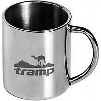Термокружка Tramp 450 мл серый TRC-010