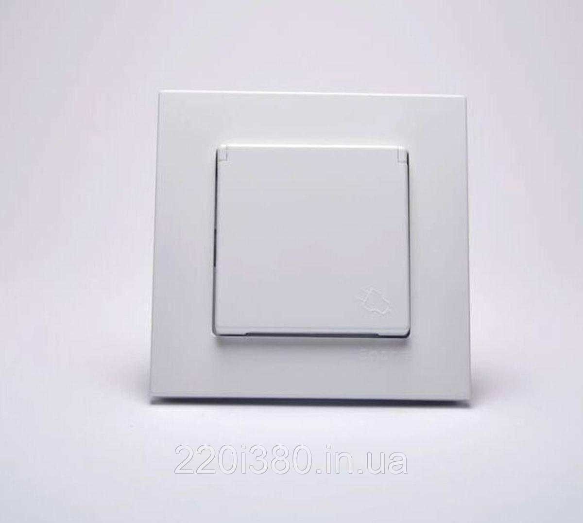 Eqona Выкл. 1-клав. белый