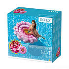 Пляжный надувной матрас - плот Intex 58787 «Розовый Цветок», 142 х 142 см , фото 3
