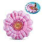 Пляжный надувной матрас - плот Intex 58787 «Розовый Цветок», 142 х 142 см , фото 9