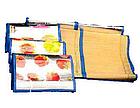 Пляжный коврик - сумка из бамбука 120*170 см | пляжная подстилка | коврик для пикника | коврик для моря , фото 6