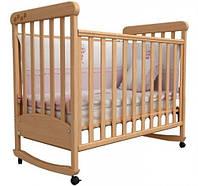 Детская кроватка Верес Соня ЛД12 Бук с резьбой Лапки 12.01