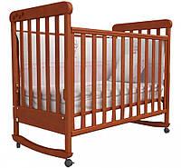 Детская кроватка Верес Соня ЛД12 Ольха с резьбой Лапки 12.02