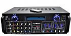Усилитель мощности звука UKC AMP AV 1800 | компактный усилитель звука | усилитель мощности, фото 3