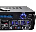 Усилитель мощности звука UKC AMP AV 1800 | компактный усилитель звука | усилитель мощности, фото 4