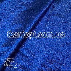 Ткань Парча (электро-синий)