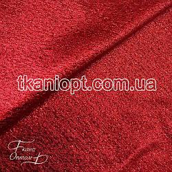 Ткань Парча (красная)