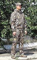 Костюм демисезонный охота/рыбалка. Влаго-ветрозащитный. Ткань ДЮСПО на флисовом подкладе.., фото 1