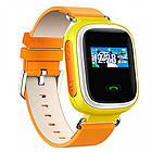 Умные детские смарт часы с GPS Smart Baby Watch Q80 ЖЕЛТЫЕ, фото 2
