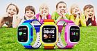 Умные детские смарт часы с GPS Smart Baby Watch Q80 ЖЕЛТЫЕ, фото 10