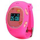 Розовые детские часы с GPS-трекером G65 | смарт часы | умные часы, фото 5