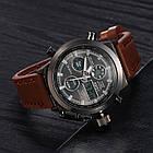 Мужские наручные армейские часы AMST Watch | кварцевые противоударные часы , фото 7