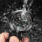 Мужские наручные армейские часы AMST Watch | кварцевые противоударные часы черные, фото 3