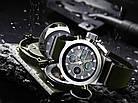 Мужские наручные армейские часы AMST Watch | кварцевые противоударные часы черные, фото 10