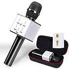 Караоке-микрофон q7   Беспроводной Bluetooth караоке-микрофон (Черный), фото 4