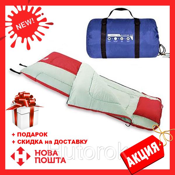 Спальный мешок 68047 sh Bestway в сумке Синий | спальник для туризма | одеяло для похода